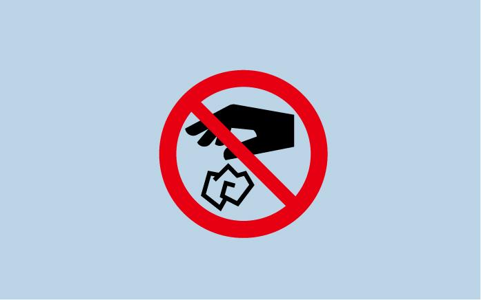 12ポイ捨て禁止